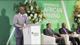Albert Yuma-Mulimbi, Chairman of the Board of Directors, Gecamines (DR Congo) at Mining Indaba 2018